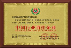 中国行业百佳企业